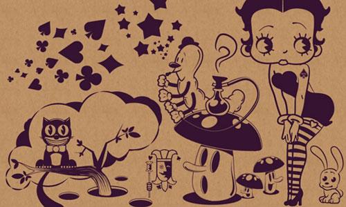 Скачать Betty Boop in Wonderland