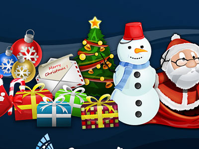 Скачать Christmas Themed Icons