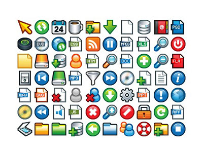 Скачать Plastic Mini Icons
