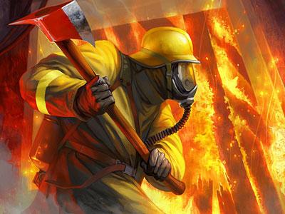 Перейти на В огненной ловушке