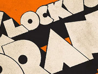 Примеры стильной типографики и текстовых эффектов за декабрь