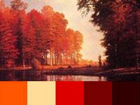 20 готовых цветовых палитр с очаровательных пейзажей Альберта Бирштадта