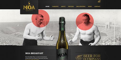 Перейти на Moa Beer