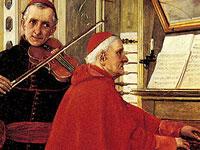 Кардинальские будни и земные радости от художника Виберта