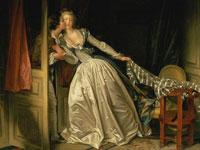 Изысканная декоративность и манерность на картинах Жан Оноре Фрагонара