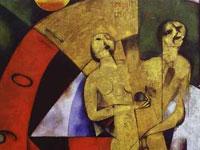 Космополитичное абстрактное волшебство от художника Марка Шагала
