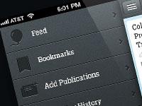 Стильные элементы в оформлении пользовательских интерфейсов за декабрь
