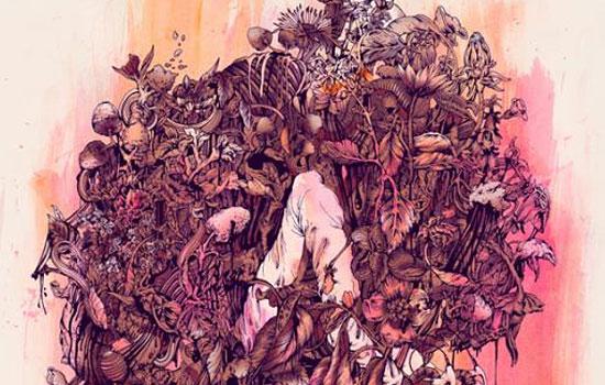 Цветное многоголосие в загадочных работах художника Pat Perry
