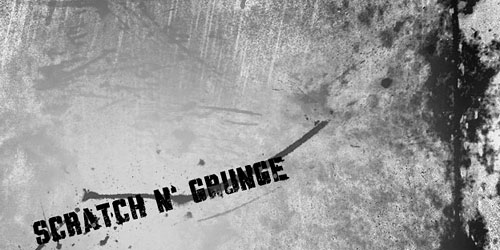 Скачать Scratch n' Grunge Brushes