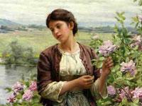 Очаровательные крестьянки на фоне вольных пейзажей от Даниэль Реджуэй Найта