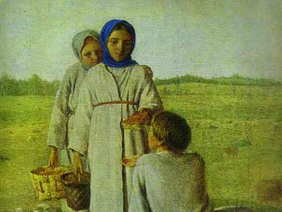 Peasant Children in the Field