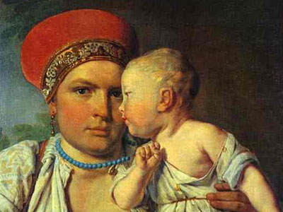 Wet-Nurse with a Child