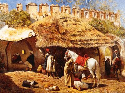 Blacksmith Shop at Tangiers