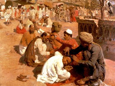 Indian Barbers  Saharanpore