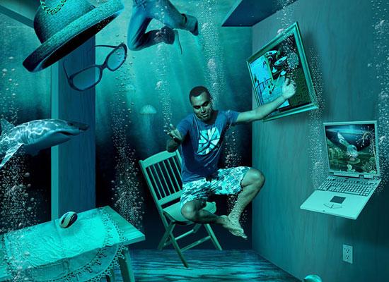 Перейти на Underwater Levitation
