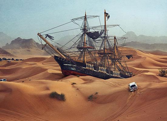 Перейти на Landmark In The Desert
