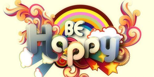 Перейти на Be Happy Illustration
