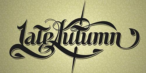 Перейти на Lateautumn Typography