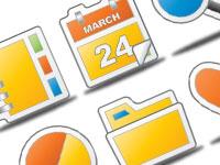Скачать бесплатно 20 наборов разнообразных иконок за март