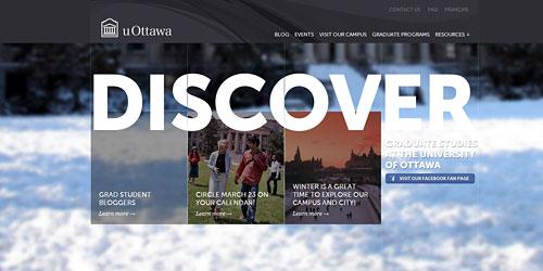 Перейти на Decouvrez U Ottawa