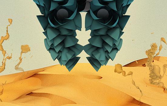 Инженерные конструкции цифрового арта от дизайнера Drfranken