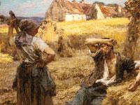 Пасторальные крестьянские сюжеты от художника Леон-Августин Лермитт