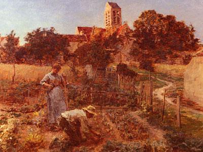 Au Jardin, Charteves, Pres De MontSaintPere
