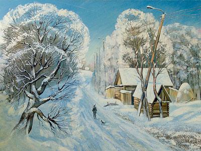 Перейти на Зимняя Дорога