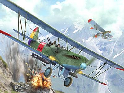 Перейти на Polikarpov R-5