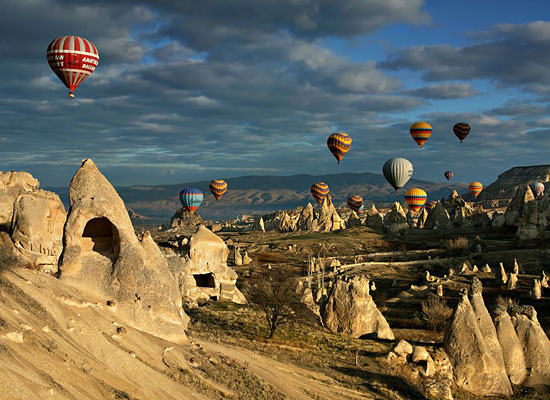 Перейти на Hot Air Balloons, Cappadocia