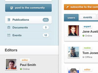Перейти на Community Profile