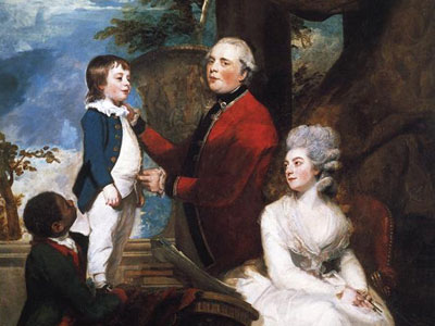 George Grenville, Earl Temple, Mary, Countess Temple, and Their Son Richard