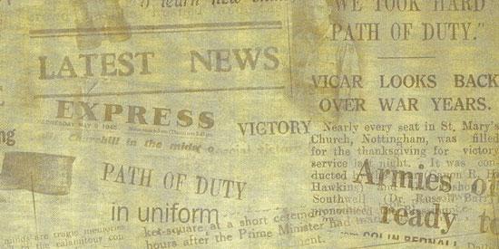 Скачать Old Newspaper Texture