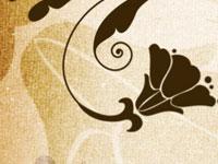 Скачать бесплатно кисти с изображениями растительных орнаментов
