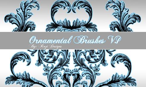 Скачать Ornamental Brushes