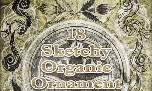Скачать Organic Ornament Brushes