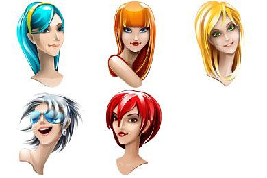 Скачать Browser Girl Icons