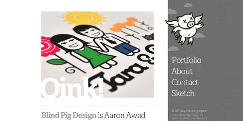 Перейти на Blind Pig Design