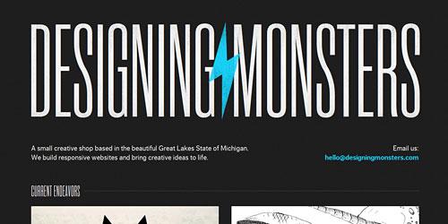 Перейти на Designing Monsters
