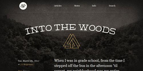 Перейти на Into The Woods