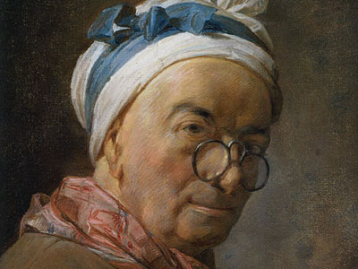 Selfportrait with glasses