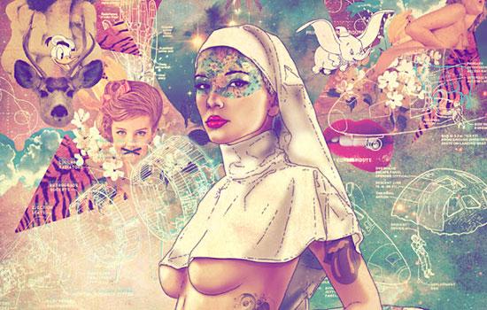Известные персонажи в художественной обработке Fab Ciraolo