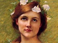 Портреты прекрасных девушек от салонного художника Лефевра