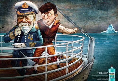 Перейти на Listerine Titanic