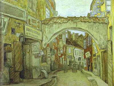 Glassmakers' Street in Vilno