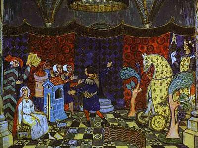 Le Jeu de Robin et Marion in St. Petersburg