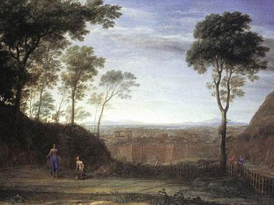 Landscape with Noli Me Tangere Scene