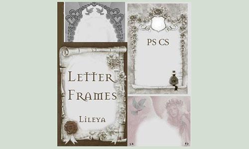 Скачать Letter Frames