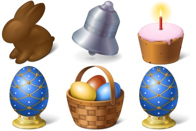 Скачать Happy Easter Icons