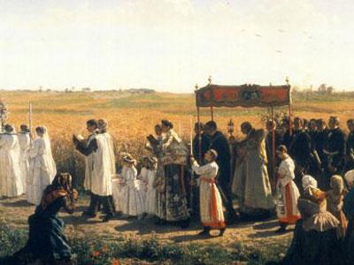 Sacraments Processie